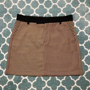 ⭐️ Zara Color Block Mini Skirt